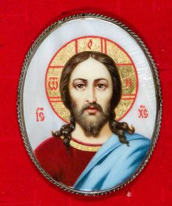Икона Спасителя для митры