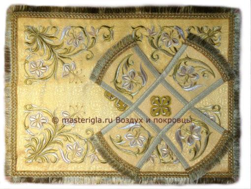Желтый воздух и покровцы с вышивкой