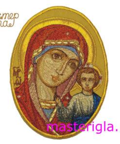 ikona-Bogoroditsy-ovalnaya-mashinnaya-vyshivka