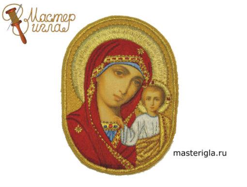 ikona-Bogoroditsy-ovalnaya-pechat-na-kholste
