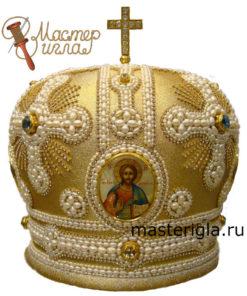 mitra-ruchnoy-raboty-zhemchug-1