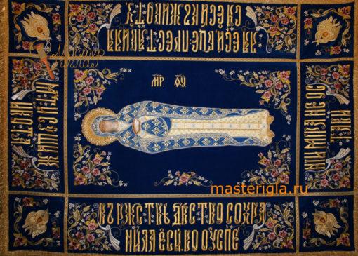 plashchanitsa-Bogoroditsy-ruchnaya-vyshivka