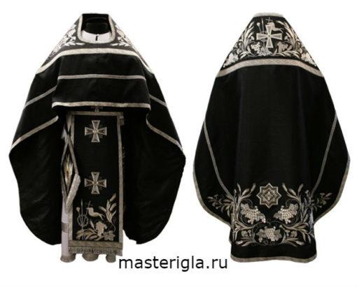 iereyskoe-oblachenie-barkhat-chernyy-vyshivka-georgievskiy-krest