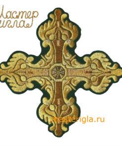 krest-mashinnaya-vyshivka-lev-zelenyy-17