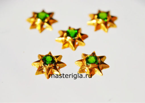 Хромдиопсид звезда для украшения плащаниц