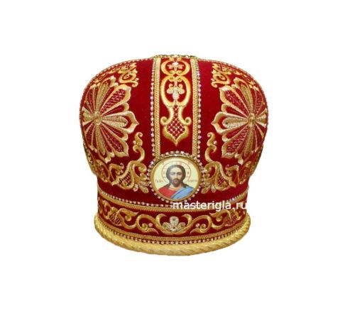 mitra-krasnaya-s-vyshivkoy-strazy
