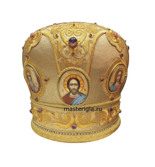 mitra-zolotaya-vyshivka-ikony-pisannye