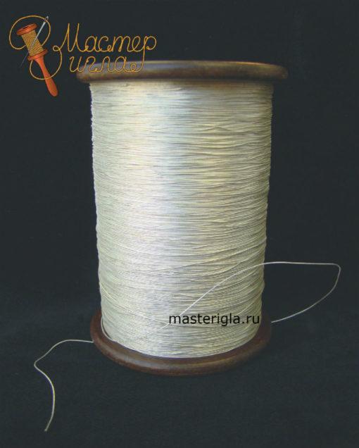 Металлизированная нить для ручного шитья.