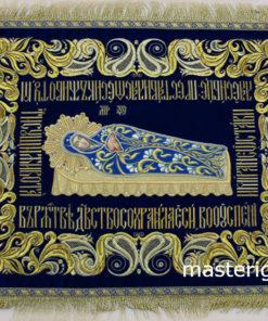Плащаница Богородицы с орнаментом