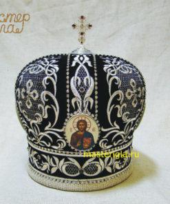 mitra-chernaya-serebrenaya-vyshivka-1